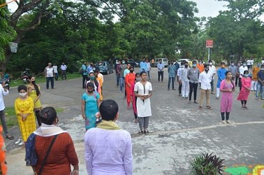 ABVP observed foundation day. TIWN Pic July 9