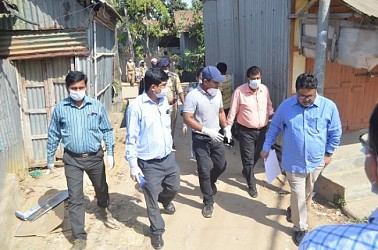 18 families taken to institutional isolation. TIWN Pic April 1