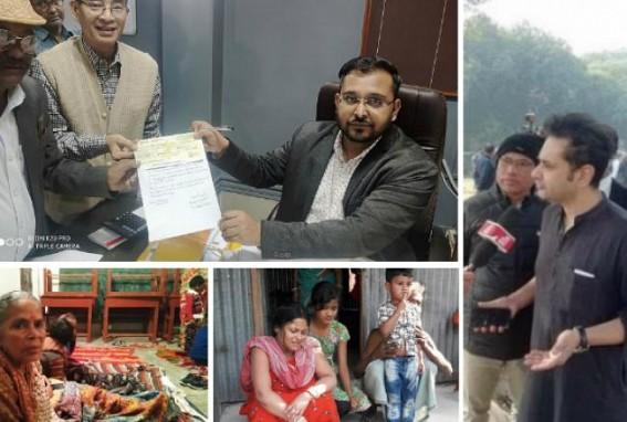 Royal scion smashed Critics' mouths with a 'Big Heart' : Pradyot Manikya Donates Rs. 1.5 lakh for Ananda Bazar Anti-CAA violence victimized Bengali families