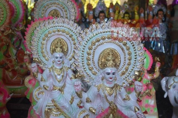 Biswakarma Puja : Prices of Idols go higher this year in Tripura