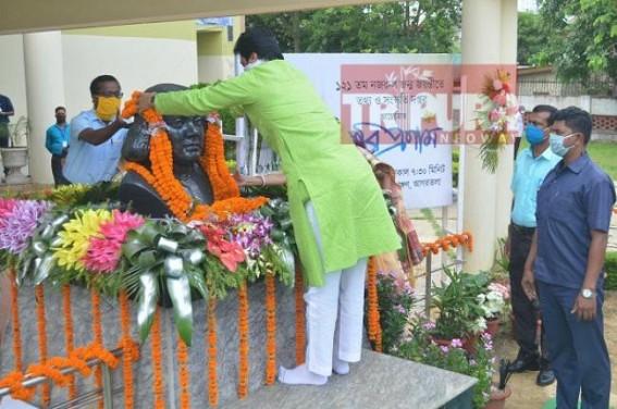 Tripura CM pays tribute to Revolutionary Poet Kazi Nazrul Islam, greets State on auspicious Eid