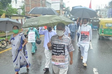 CPI-M protest with 5 points of demands. TIWN Pic Sep 22