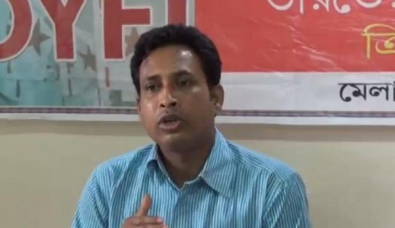 DYFI lashed out at BJP Govt over Law and Order situation