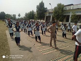 Assam Rifles held Yoga Camp. TIWN Pic Jan 25