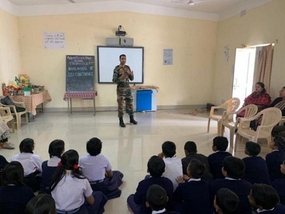 'Motivational Lecture' to join Indian Army/AR organized