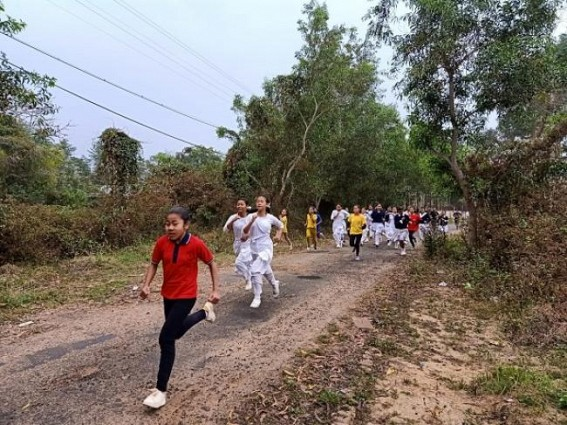 'Run for Unity' in Tripura by Assam Rifles, called for Peace and Unity