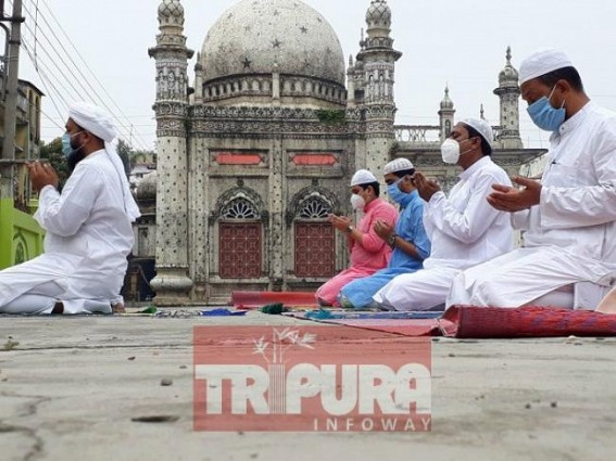 Eid-ul-Fitr celebrated in Tripura with social distancing, CM greets State