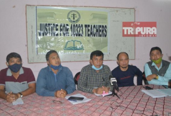 'Solve Our Problems by 3rd December or Get Ready to Face Massive Protest which will be marked in History' : 10323 Teachers told Tripura Govt, Announced Indefinite 'Hunger Strike'