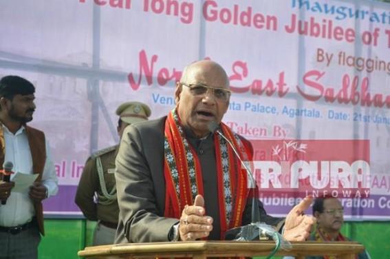 Tripura Governor asked people to walk on Mahatma Gandhi's path