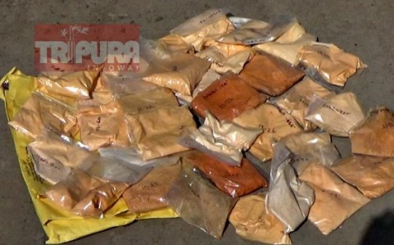 Brown sugar worth Rs. 20 lakhs destroyed