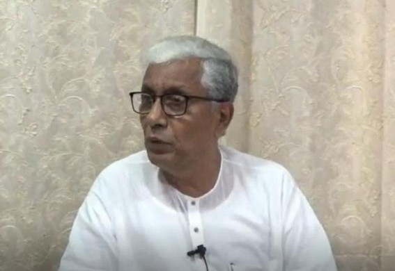 'Lockdown rules are not implemented for the BJP leaders in Tripura' : Manik Sarkar
