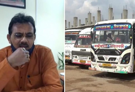 'Using Single Seat in Buses is not Mandatory but Some Passengers are giving Double Fares because they are hiring Double-Seats' : Tripura Transport Minister's shocking Remark shocked Passengers and Drivers both sections