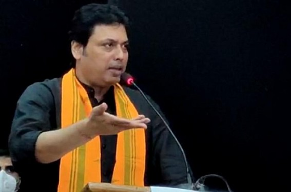 'Narendra Modi Govt knows the Tactics of how to Collect Taxes from Public' : Says Tripura CM Biplab Deb