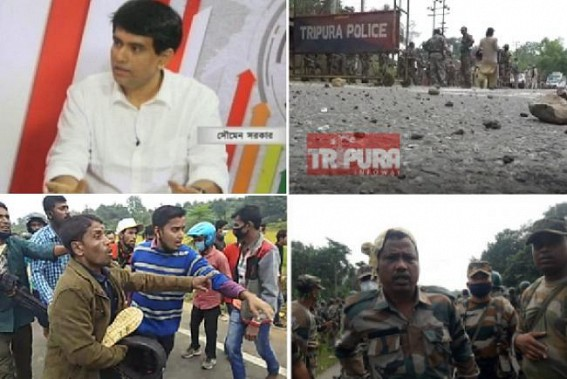 TIWN Editor rebuked Political Parties for 'exploiting' public sentiments, causing communal clashes and life-loss in North Tripura ahead of ADC Election