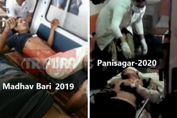 After 2019 Madhavbari Violence, 2020 marked by Panisagar Violence incident amid agitations : Total Failure of Law & Order under Biplab Deb's Home Ministry