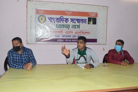 Around 5,500 Nursing pass out Unemployed in Tripura