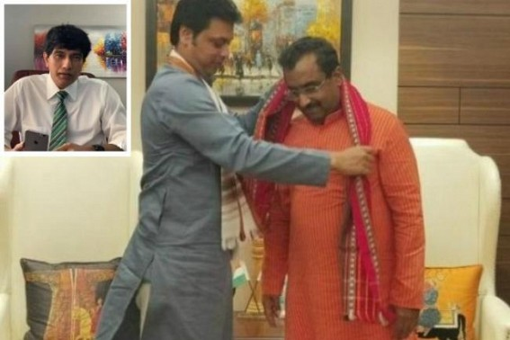 'Sacking of Biplab Deb's Godfather Ram Madhav from BJP's General Secretary Post is a good sign for Tripura' : TIWN Editor