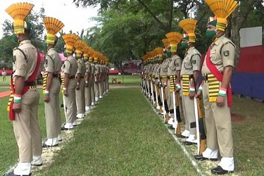 Tripura remembers martyrs on Police Commemoration day. TIWN Pic Oct 21