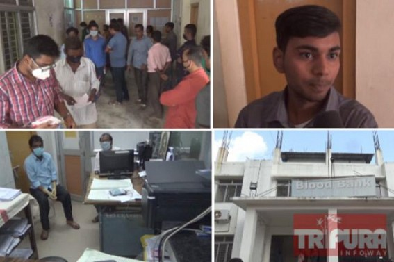 Blood Crisis hits Tripura Blood Banks : Patient Parties face harassment in GB like prominent hospital's Blood Bank