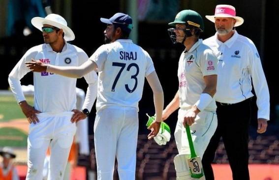 4th Test: Spectators call Siraj, Sundar 'bloody grub' at Gabba