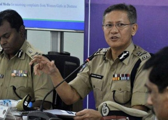 BJP seeks Andhra DGP's removal for blaming it for temple attacks