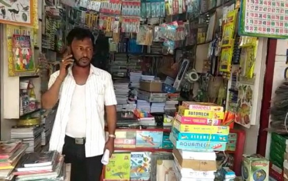 Miscreants Attacked a Book Shop at Orient Chowmuhani