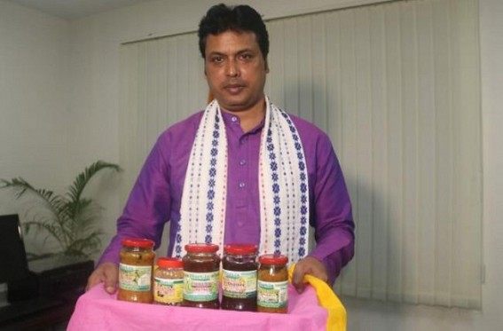 Biplab Deb hoping 'Pickles' to Boost Economy