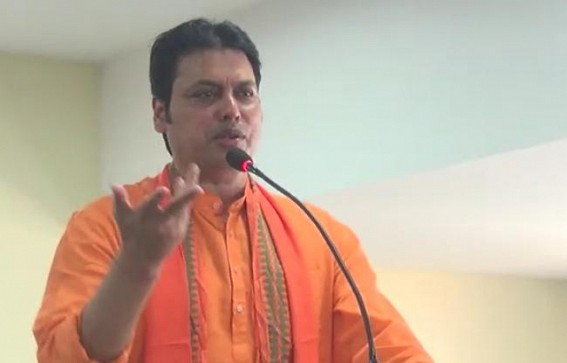 'Nobody could imagine, India will manufacture COVID-19 Vaccine but under PM Modi it was made possible' : Biplab Deb
