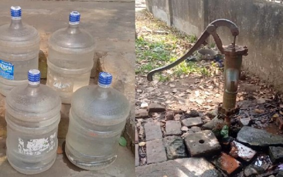 Acute drinking water crisis in TSR camps