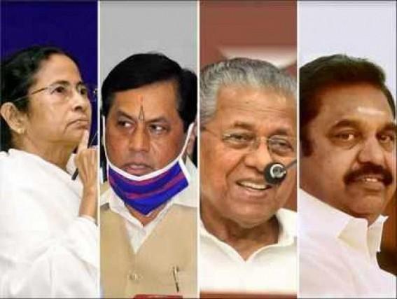 'Didi to retain Bengal, LDF Kerala; tough fight in Assam, DMK back in TN' : Opinion poll