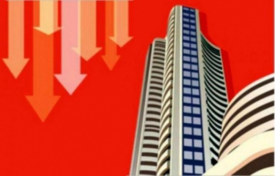 Profit booking, global cues dent indices; realty, IT stocks plunge