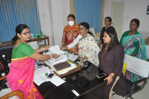 Congress placed deputation to Women Commission Chairperson. TIWN Pic Feb 23