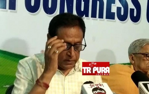 Congress announced Candidates' names for Tripura ADC Poll