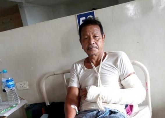 Attacks on CPI-M continue in Tripura