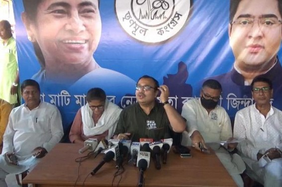 BJP's wings call Rail-Strike on Abhishek Banerjee's Arrival Day : Police Cancelled Rally's Permission in Agartala