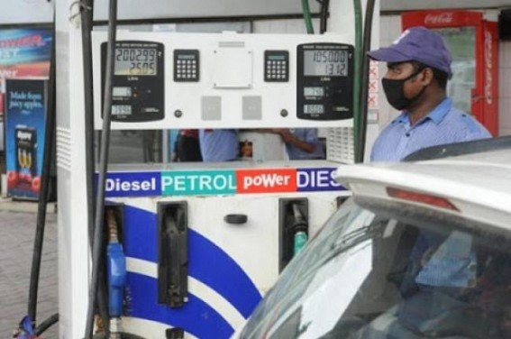 Double Engine turns Costly for Tripura : Centre hiking fuel price, State hikes Transport Fares