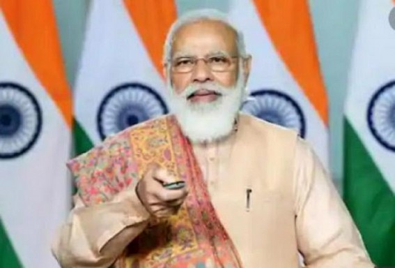 PM Modi to launch New Projects virtually for Tripura tomorrow