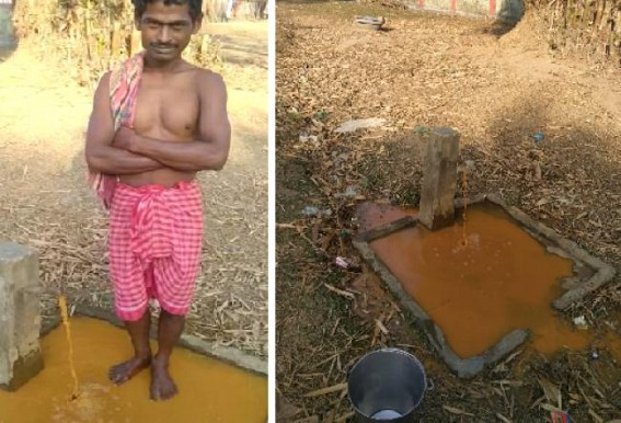 Hira Era ! Villagers are getting Unpurified water which is dangerous to drink, in Totabari area under Teliamura Sub-division